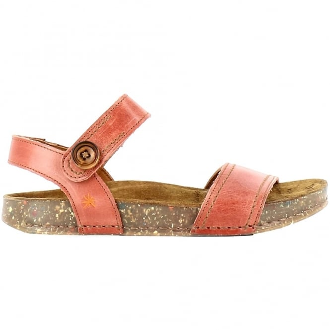The Art Company 0866 We Walk Sandal Granada, leather velcro sandal