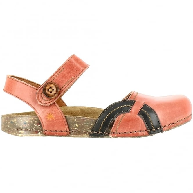 The Art Company 0867 We Walk Closed Toe Flat Granada, leather flat shoe for the ladies