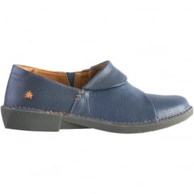 0919 Bergen Shoe Marino, flat leather slip on