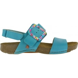 1001 I Breathe Sandal Albufera, leather with buckle closure