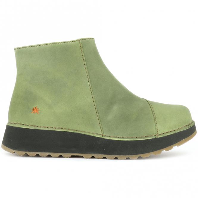 The Art Company 1022 Heathrow Khaki Short Leather Ankle