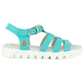 A326 Junior Agora Aquatic, Leather upper sandal