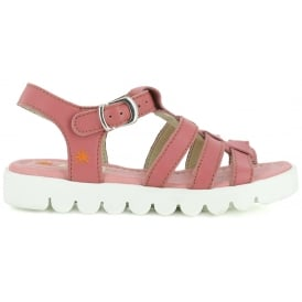 A326 Junior Agora Rose, Leather upper sandal