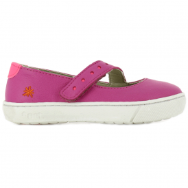 A535 Junior Dover Soft Fuchsia, soft leather ballet flat