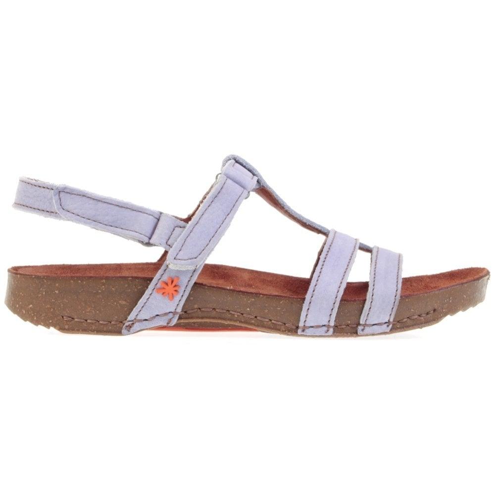 I Breathe 0972 Sandal Iris With 2 Adjustable Velcro
