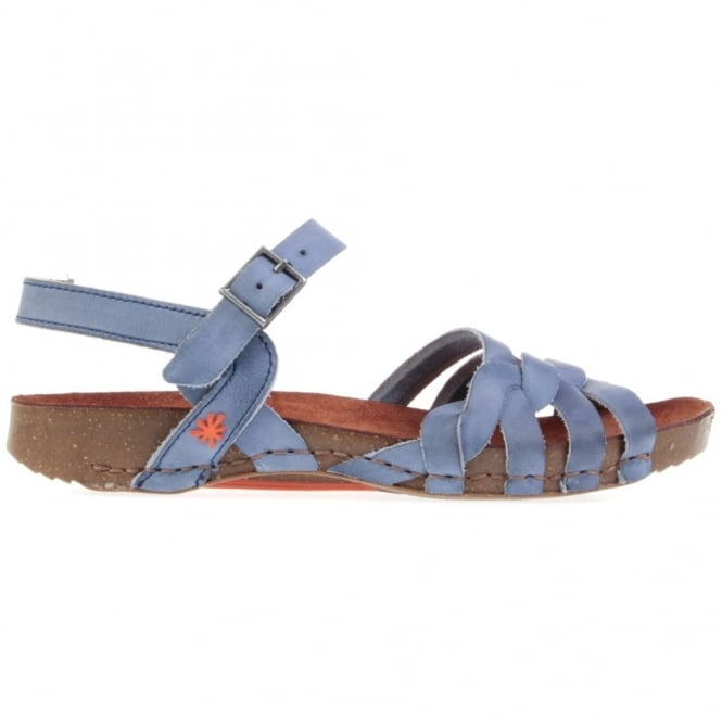 The Art Company I Breathe 0976 Sandal Tinted Crepusculo, leather sandal with buckle fastening