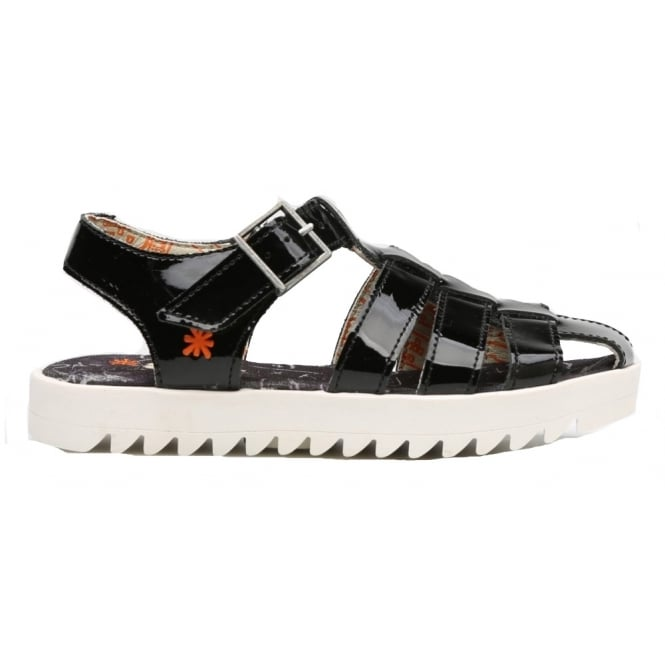The Art Company Kids A313 Atenas Charol Black, patent leather sandal