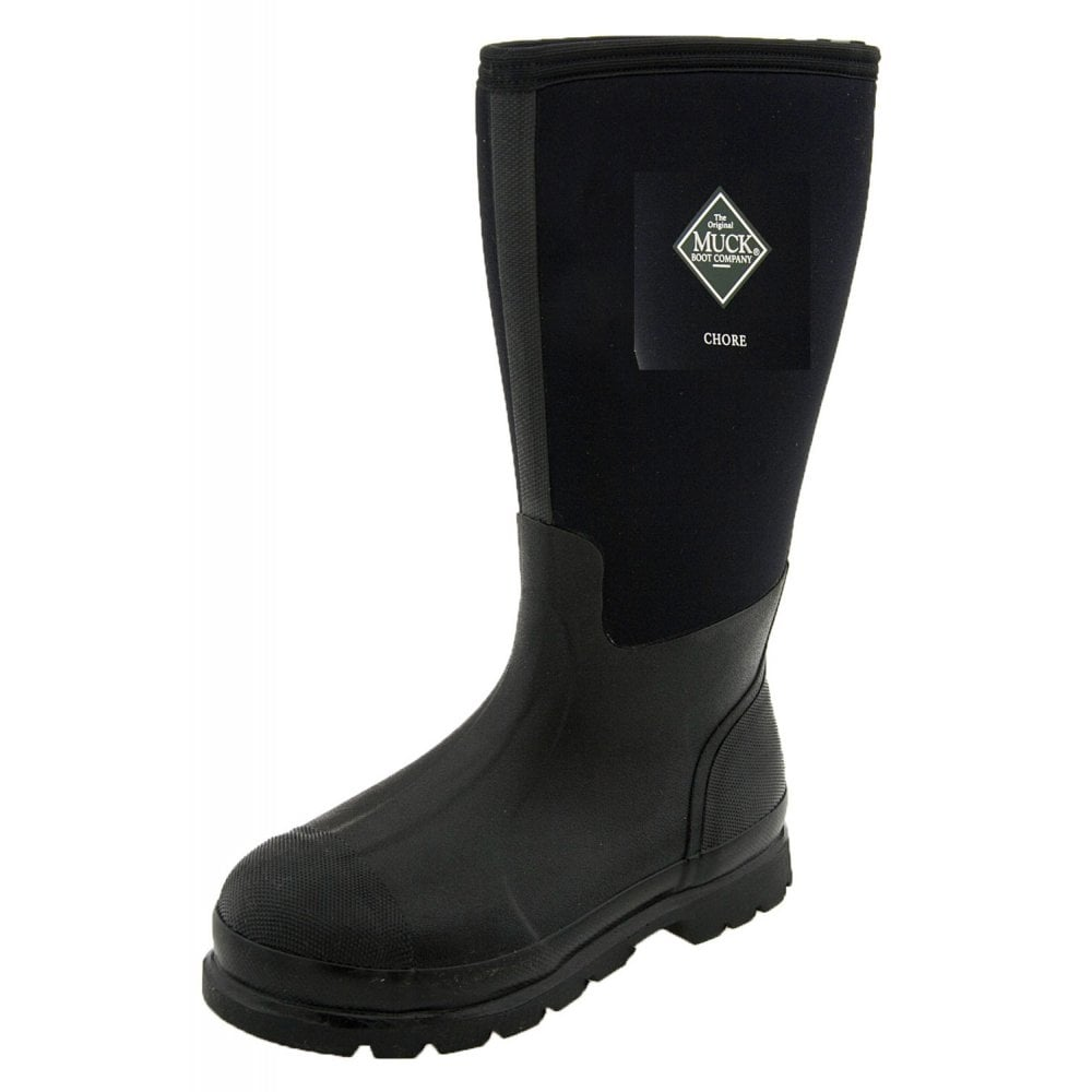 The Muck Boot Company Chore Hi Black, The original neoprene lined ...