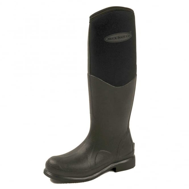 The Muck Boot Company Colt Ryder Black, The original neoprene lined riding wellie!