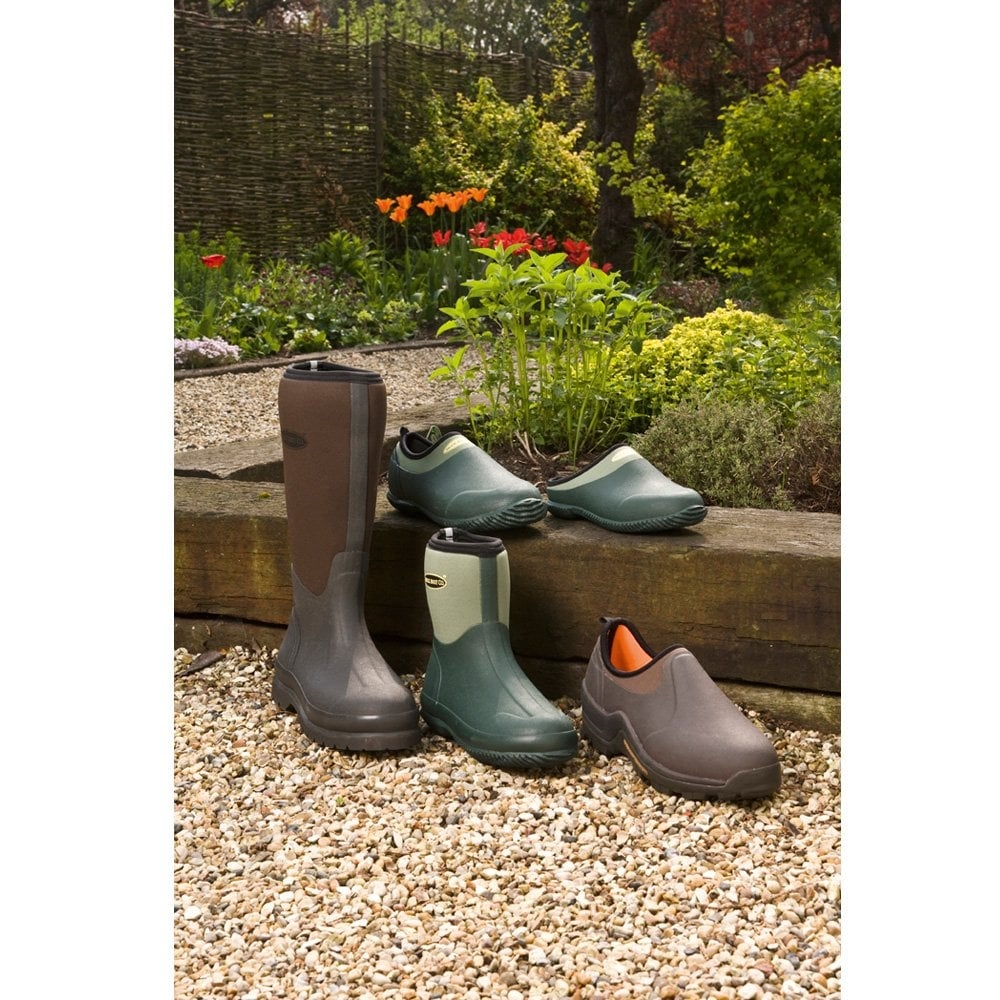 The Muck Boot Company Daily Garden Shoe Green Gardening shoes