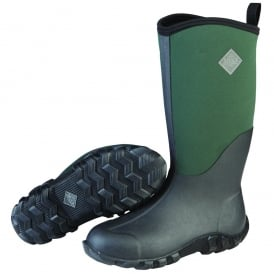 Edgewater II Green/Black, a new take on the perfect every day welly