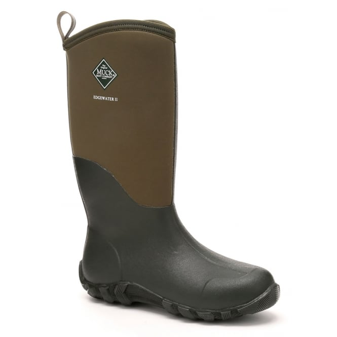 The Muck Boot Company Edgewater II Moss, a new take on the perfect every day welly