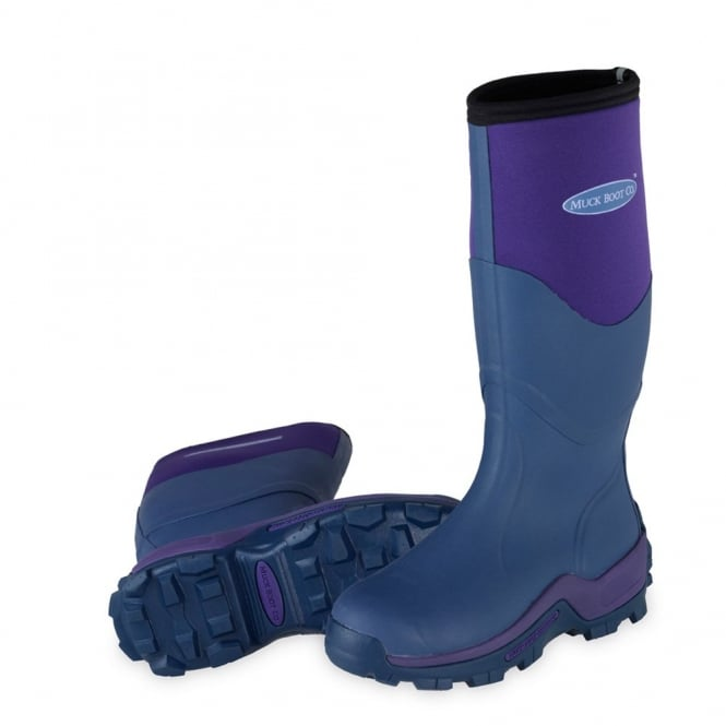 The Muck Boot Company Greta Violet, Ideal for muddy fields
