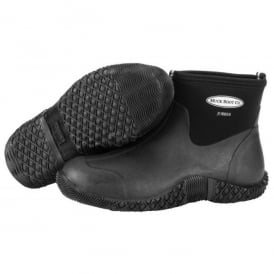 Jobber Black, practical low-cut work boot