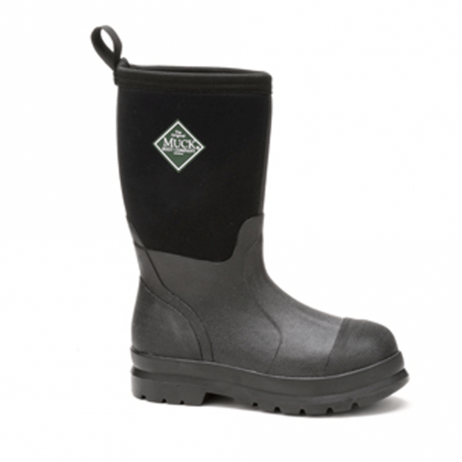 The Muck Boot Company Kids Chore Black, the classic Chore wellington now sized for boys and girls