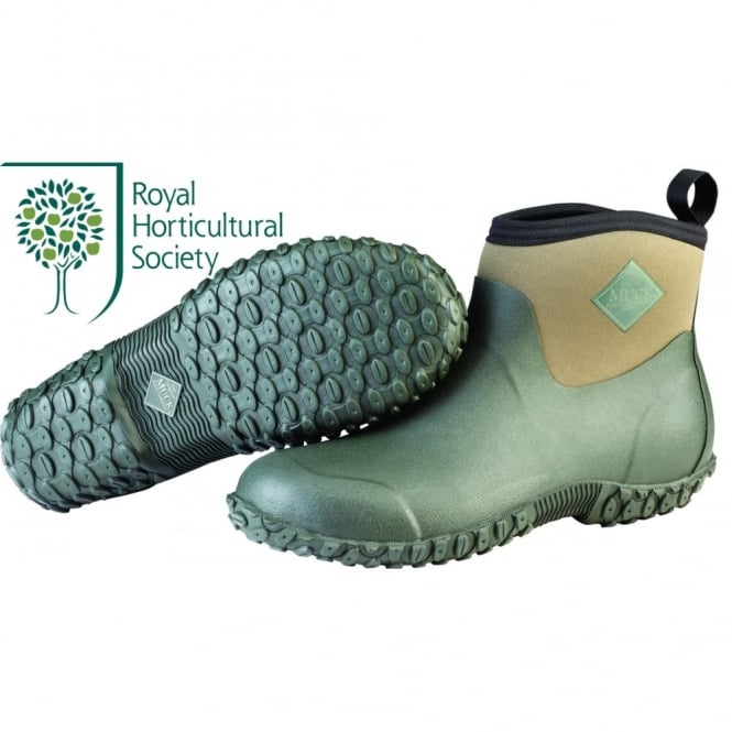 The Muck Boot Company Mens Muckster II Ankle Moss/Green, a new sole for more stability in mud, slush or rain!