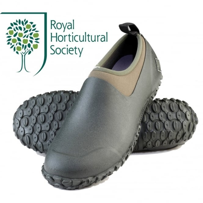 The Muck Boot Company Mens Muckster II Low Moss/Green, a new sole for more stability in mud, slush or rain!