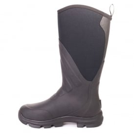 Muck Grit Black/Carbon, the perfect farm and construction boot