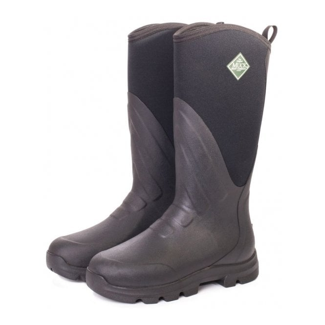 The Muck Boot Company Muck Grit Black/Carbon, the perfect farm and construction boot