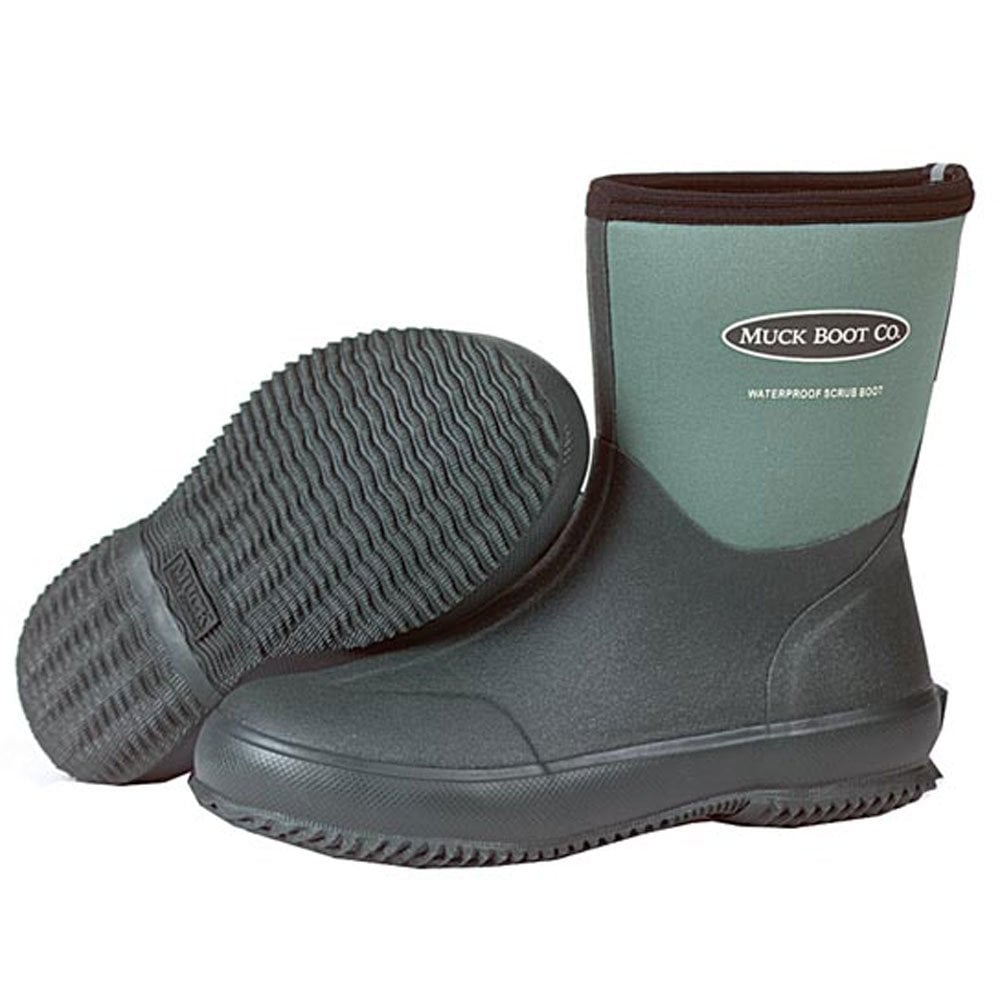 the muck boot company scrub green great for gardening all