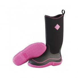 Womens Hale Boot Black/Hot Pink, Sporty, Multi-Season Boot