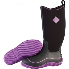 Womens Hale Boot Black/Purple, Sporty, Multi-Season Boot