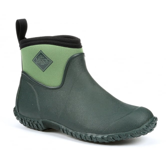 The Muck Boot Company Womens Muckster II Ankle Green, new sole for even better contact with wet surfaces!