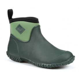 Womens Muckster II Ankle Green, new sole for even better contact with wet surfaces!