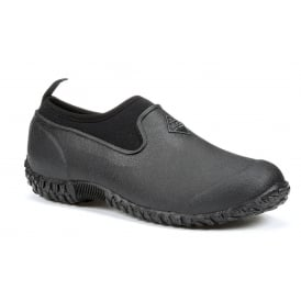 Womens Muckster II Low Black/Black, new sole for even better contact with wet surfaces!