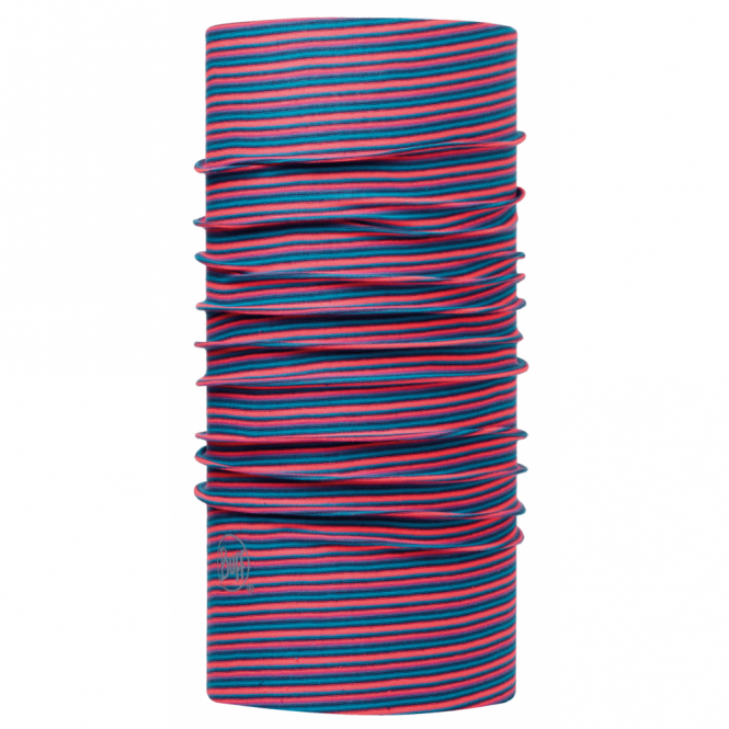 Buff The Original Yarn Dyed Stripes Pink Fluor, Multifunctional head wear