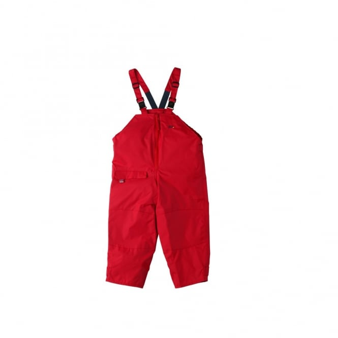 Togz Dungaree Waterproofs Red, Breathable comfort