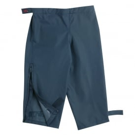 Waist Overtrouser Navy, Easy pull up Waterproofs