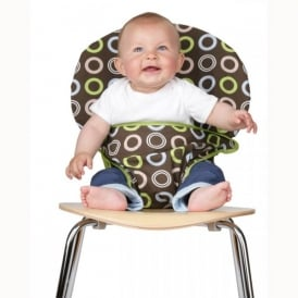 Chocolate Circles, Transform any chair into a an instant high chair