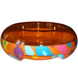 ET Temperature Food Bowl Large Flower, Keep food cool or warm