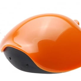 Tartolo Turtle Shaped Can Lid Orange, A handy lid to keep pet food fresh once opened
